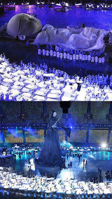 upacara pembukaan olimpik 2012