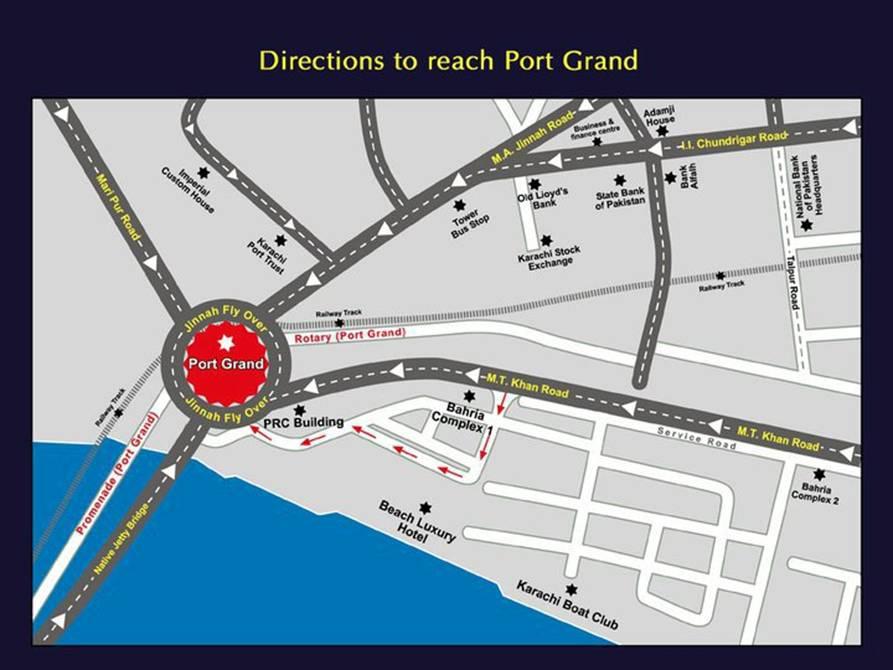 Beach Luxury Hotel Karachi Google Map