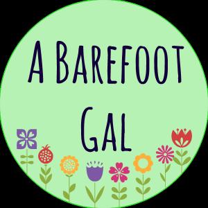 A barefoot gal