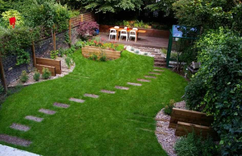Simple Garden Ideas For Front Yard Part - 37: Garden Design With Simple Garden Fence Ideas For Front Yard Design Center D  With Backyard Fire