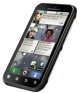 Motorola Defy plus UI view