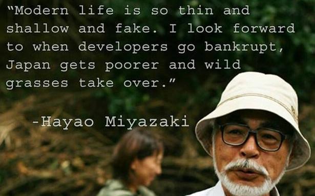hayao miyazaki quotes  quotesgram