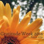 Gratitude Week 2016
