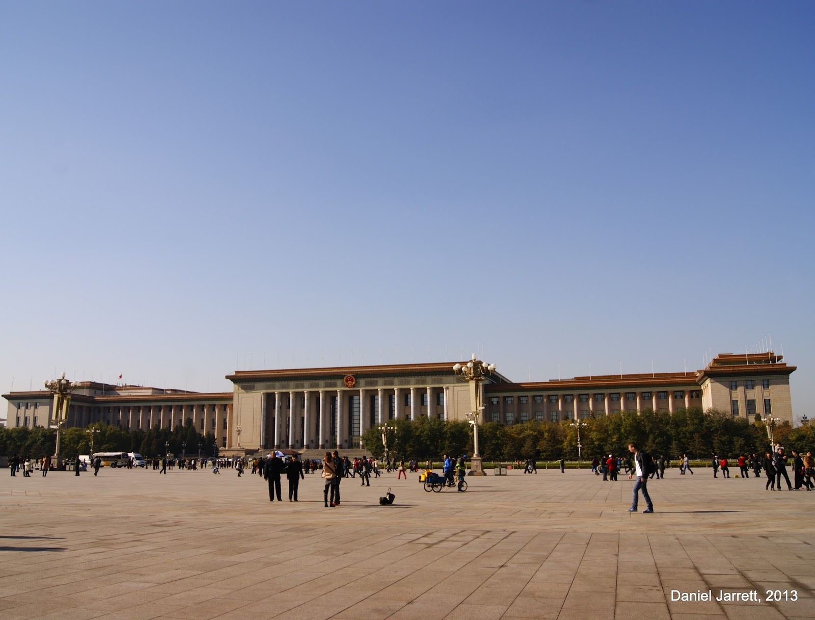 The Great Hall of the People, Outside