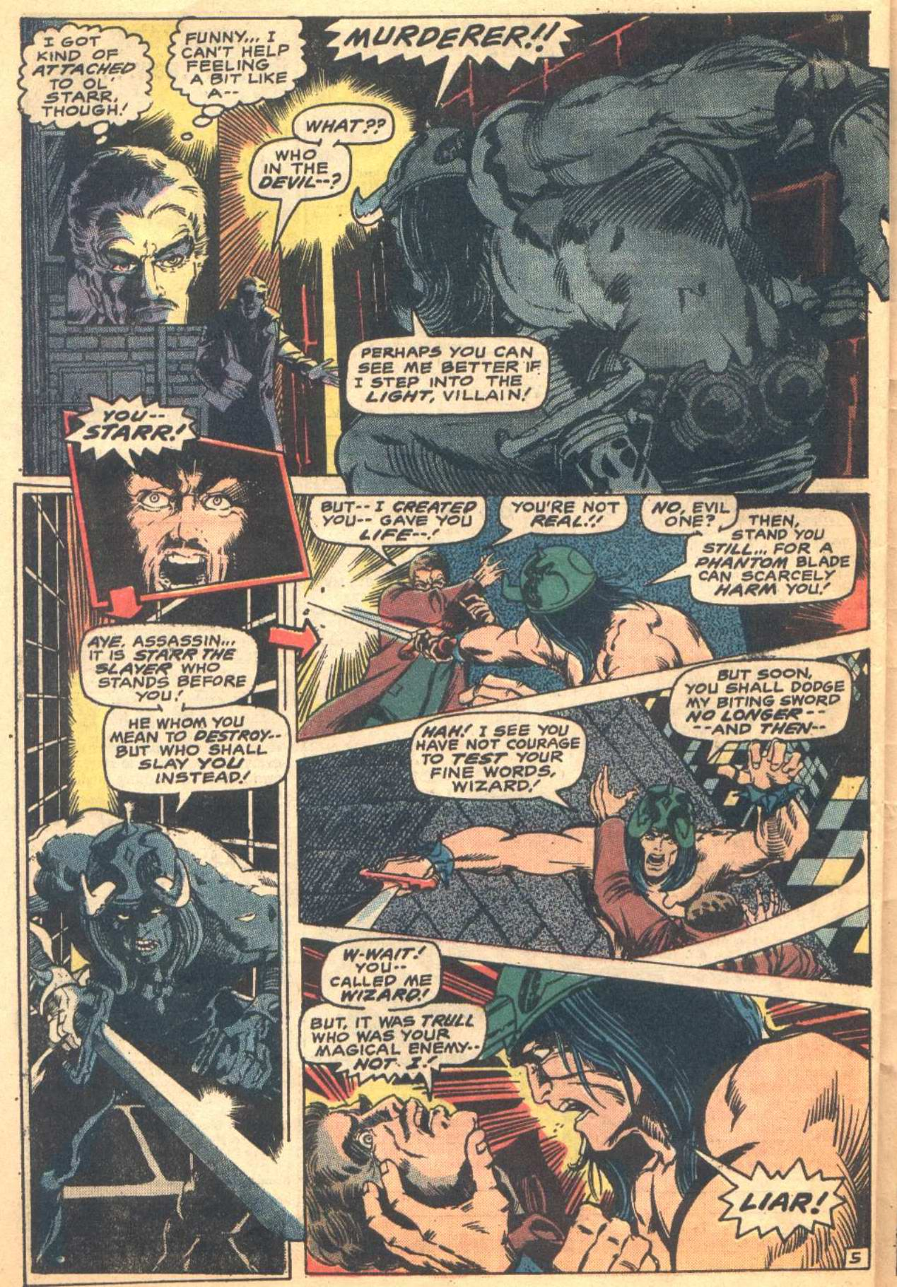 Conan the Barbarian (1970) Issue #16 #28 - English 17