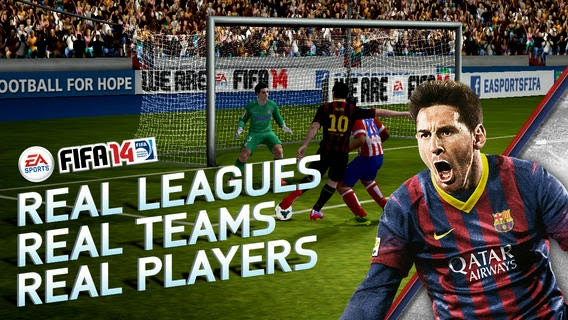 free Fifa 14 iphone ipad ios itunes