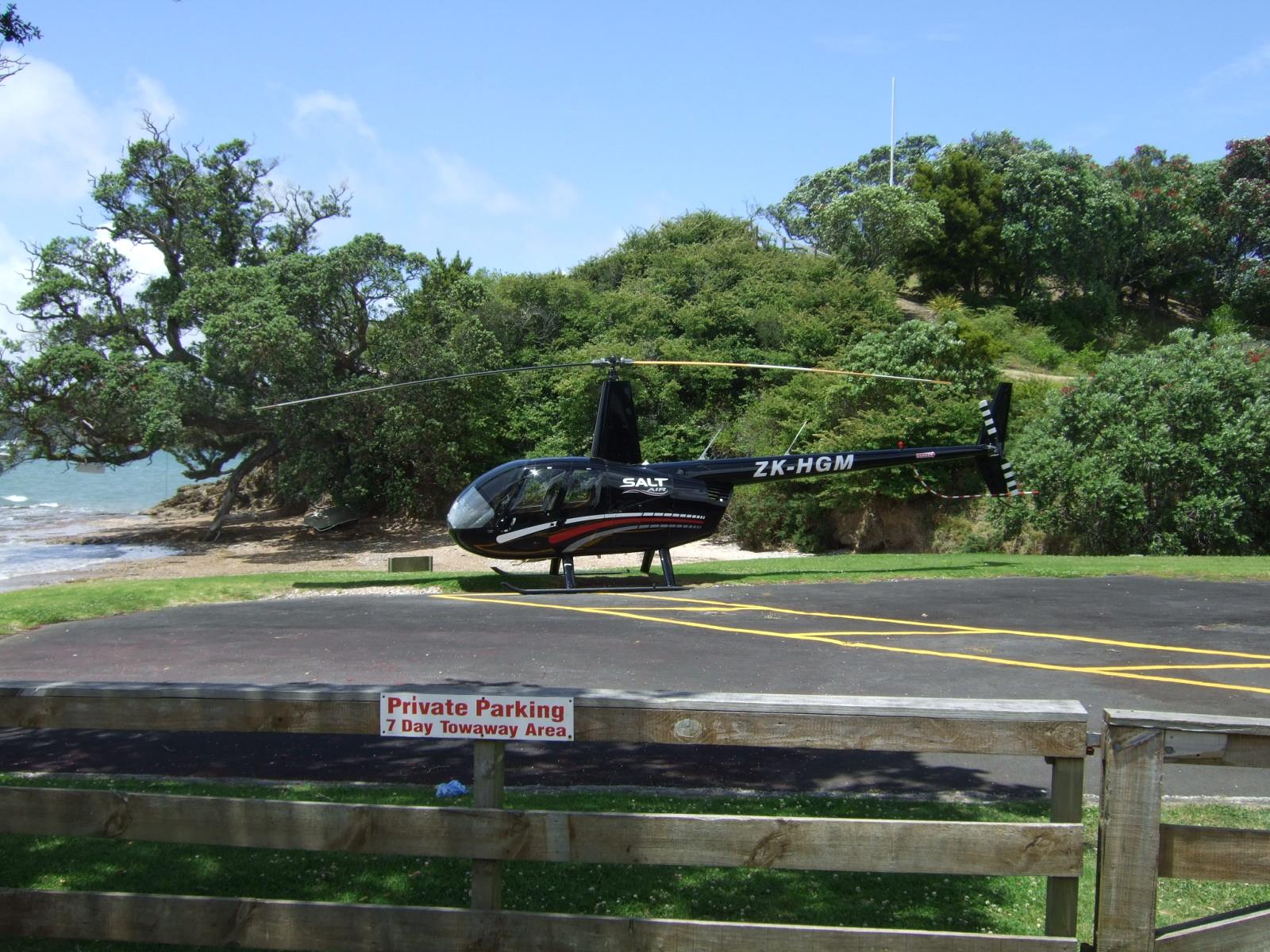 ヘリコプター,ヘリポート,パイヒア,NZ〈著作権フリー無料画像〉Free Stock Photos