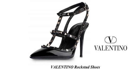 Princess Madeleine's VALENTINO Rockstud Shoes