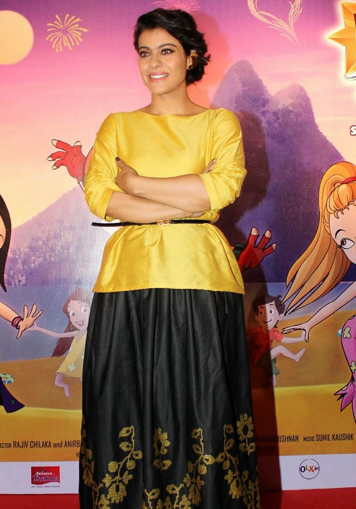 Kajol at 'Mighty Raju - Rio Calling' Mother's Day event