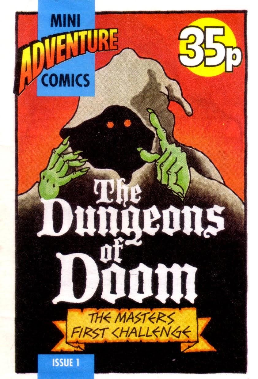 Mini Adventure Comics #1<br>The Dungeons of Doom