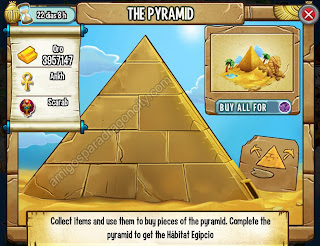 imagen de la Pyramid_la piramide de la isla egipcia de dragon city