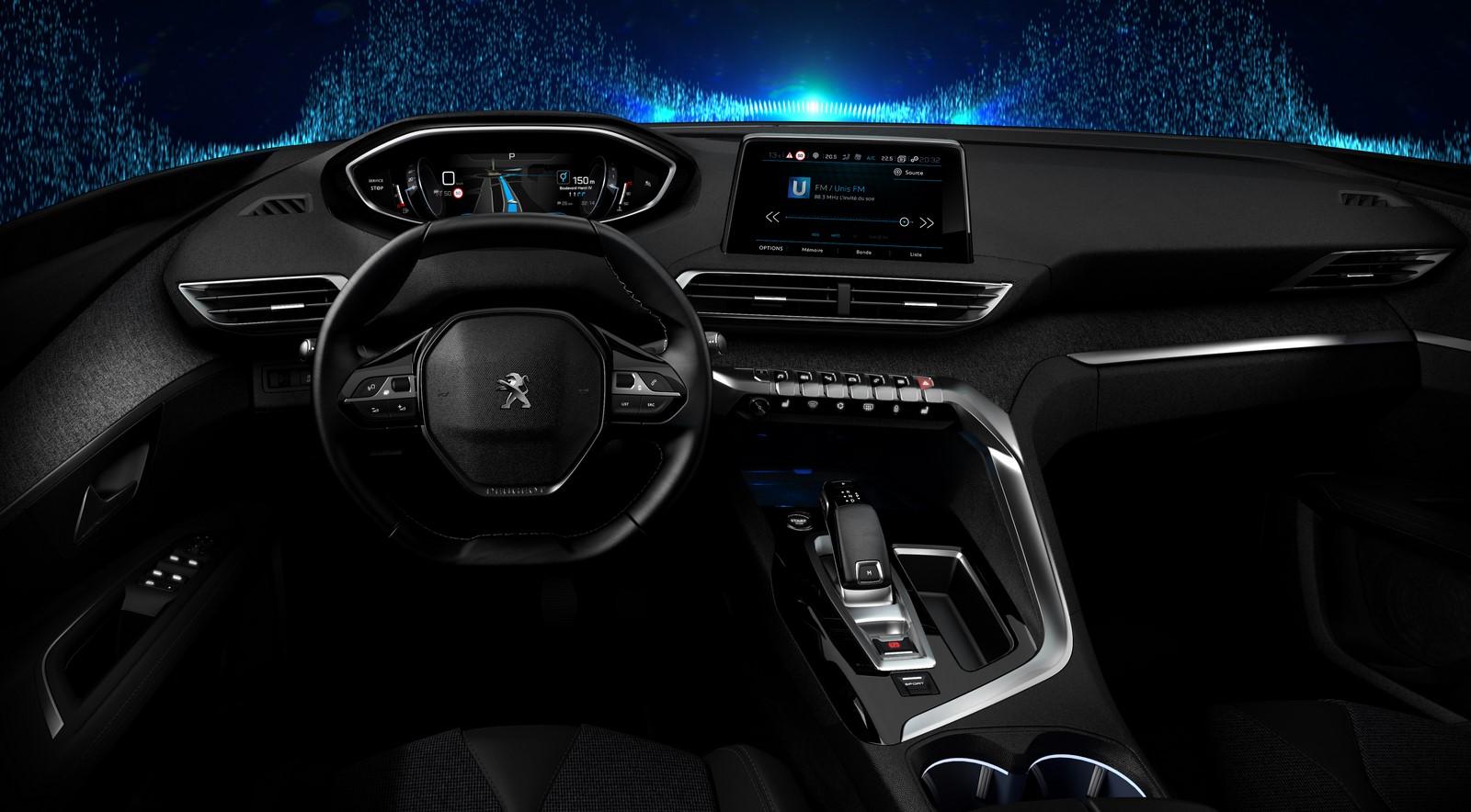 Peugeot 3008 II intérieur