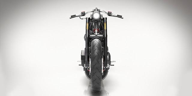 narrow motorcycle