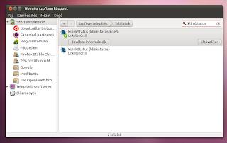 KLinkStatus - Link ellenőrző - Ubuntu