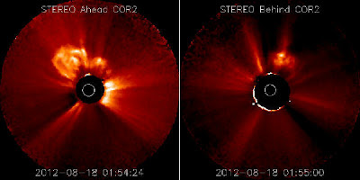 Llamarada solar clase M5.5, 18 de Agosto 2012