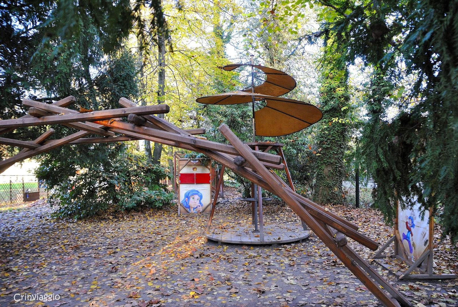 il parco degli alberi parlanti - crinviaggio
