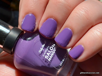 sally hansen good to grape, sally hansen good to grape swatch, sally hansen good to grape nail swatch