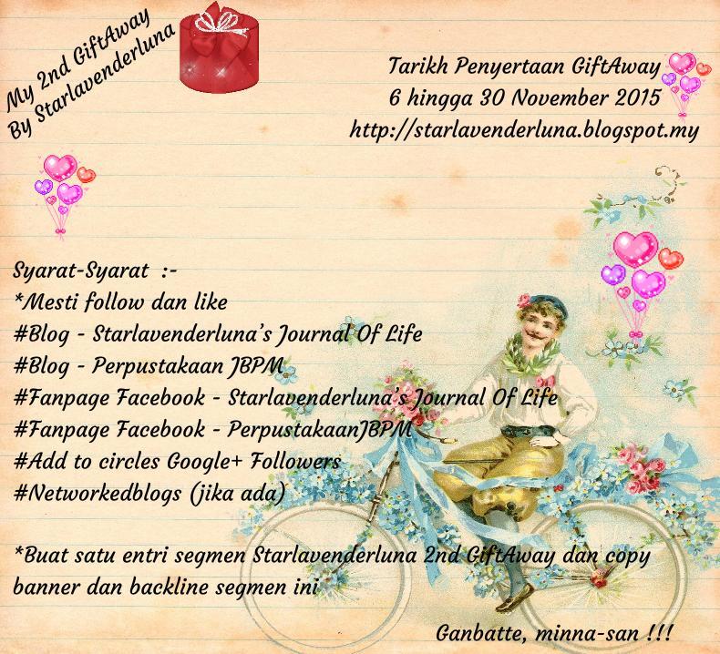 Segmen Starlavenderluna 2nd GiftAway