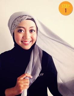 Cara Memaki Jilbab Paris Yang Simpel