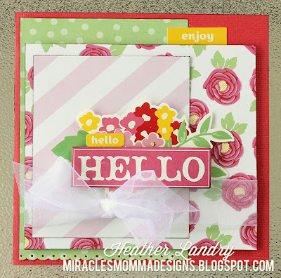 Feminine Card_Sheer Bow_Pink