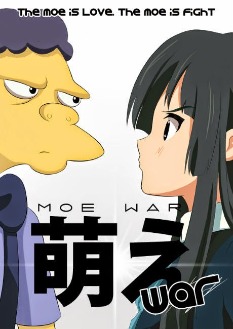The Moe is Love. The Moe is Fight.