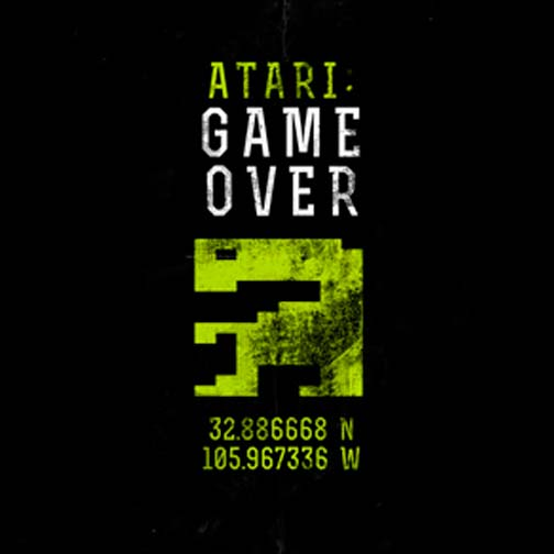 Poster de la película Atari: Game Over (2014)