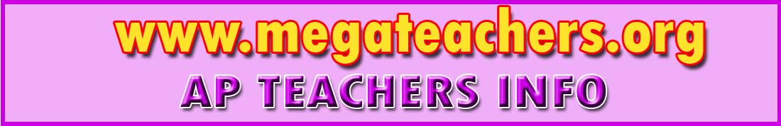 AP TEACHERS INFO AP Teachers Transfers Rationalization Norms Guidelines