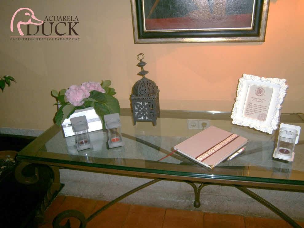 libro de firmas personalizdo