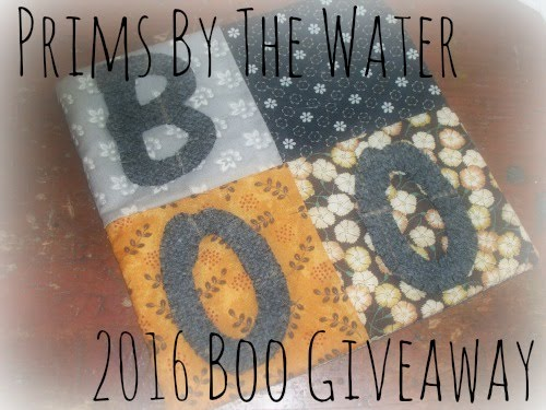 2016 Boo Giveaway