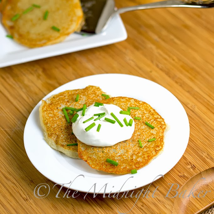 Quick potato pancakes latkes the midnight baker quick potato pancakes latkes ccuart Choice Image