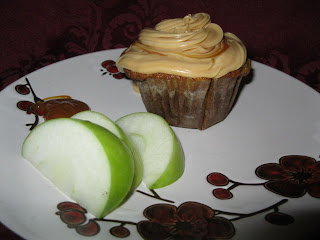 Apple Carrot Cupcakes With Caramel Fillings