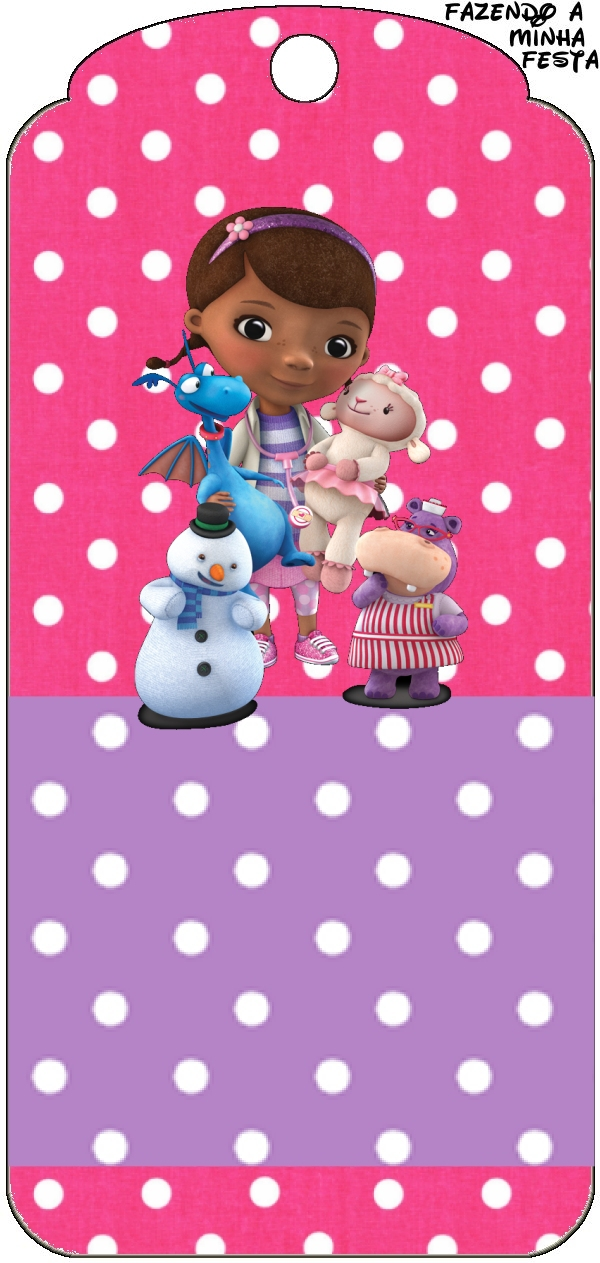 This is an image of Gorgeous Doc Mcstuffins Party Printables