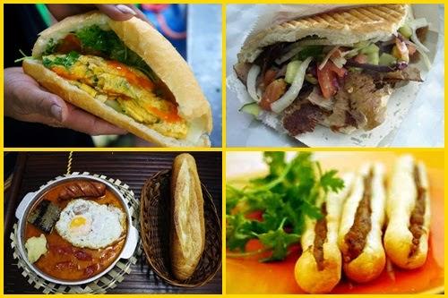 4 loại bánh mì ngon thu hút giới trẻ ở Sài Gòn