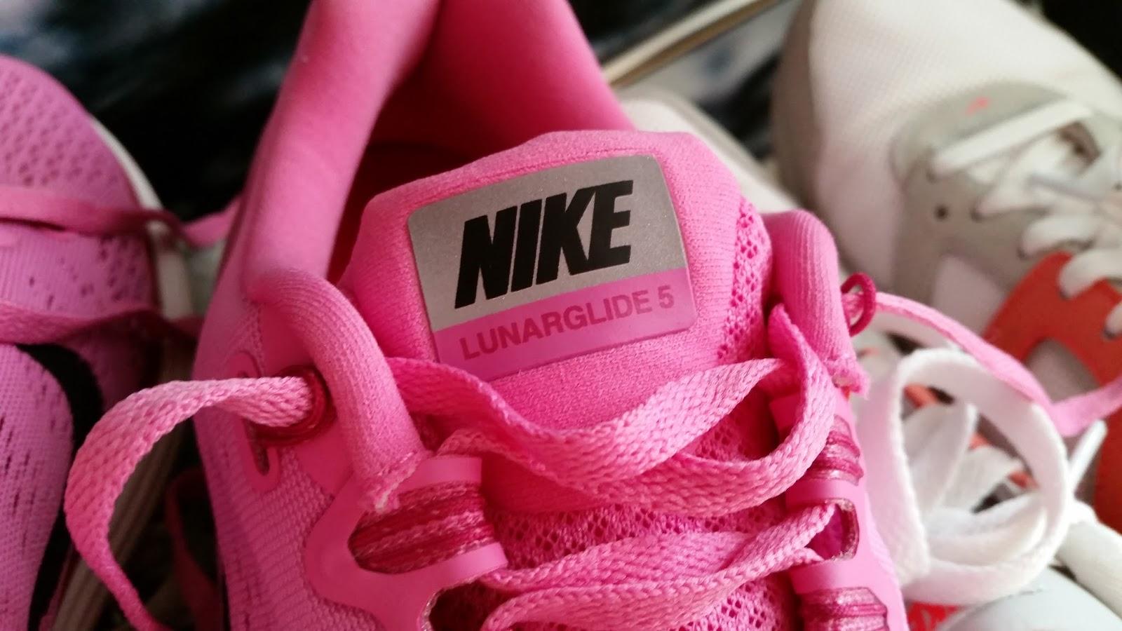nike lunarglide 5, pink, runner, just do it