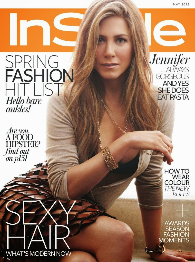 Actress @ Jennifer Aniston - InStyle UK, May 2015