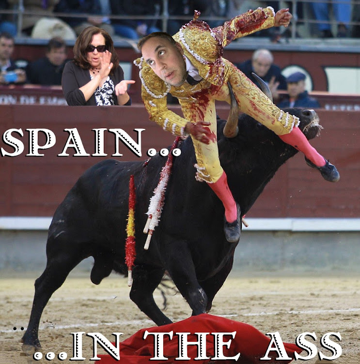 SPAIN IN THE ASS