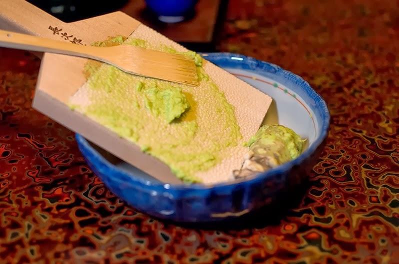Wasabi paste