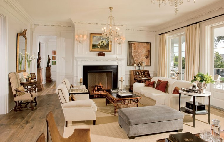 Ciao newport beach celebrity living rooms part 2 for Cream living room designs