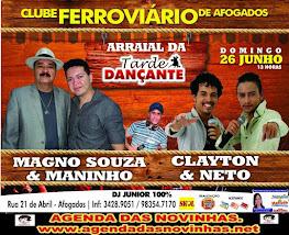 CLUBE FERROVIÁRIO DE AFOGADOS - TARDE DANÇANTE.