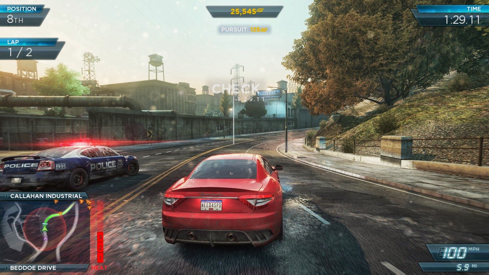 Need For Speed Most Wanted Car Racing Game