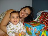 Jacqueline Sampaio - mamãe do pequenino Mateus