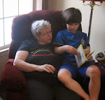 Reading a Book with Auntie