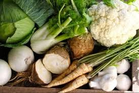 sayuran putih