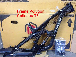 Frame Polygon Collosus T8 Carbon