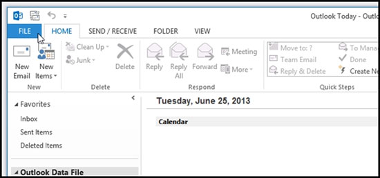 Bật nhắc nhở đính kèm file khi gửi mail của Outlook 2013 1