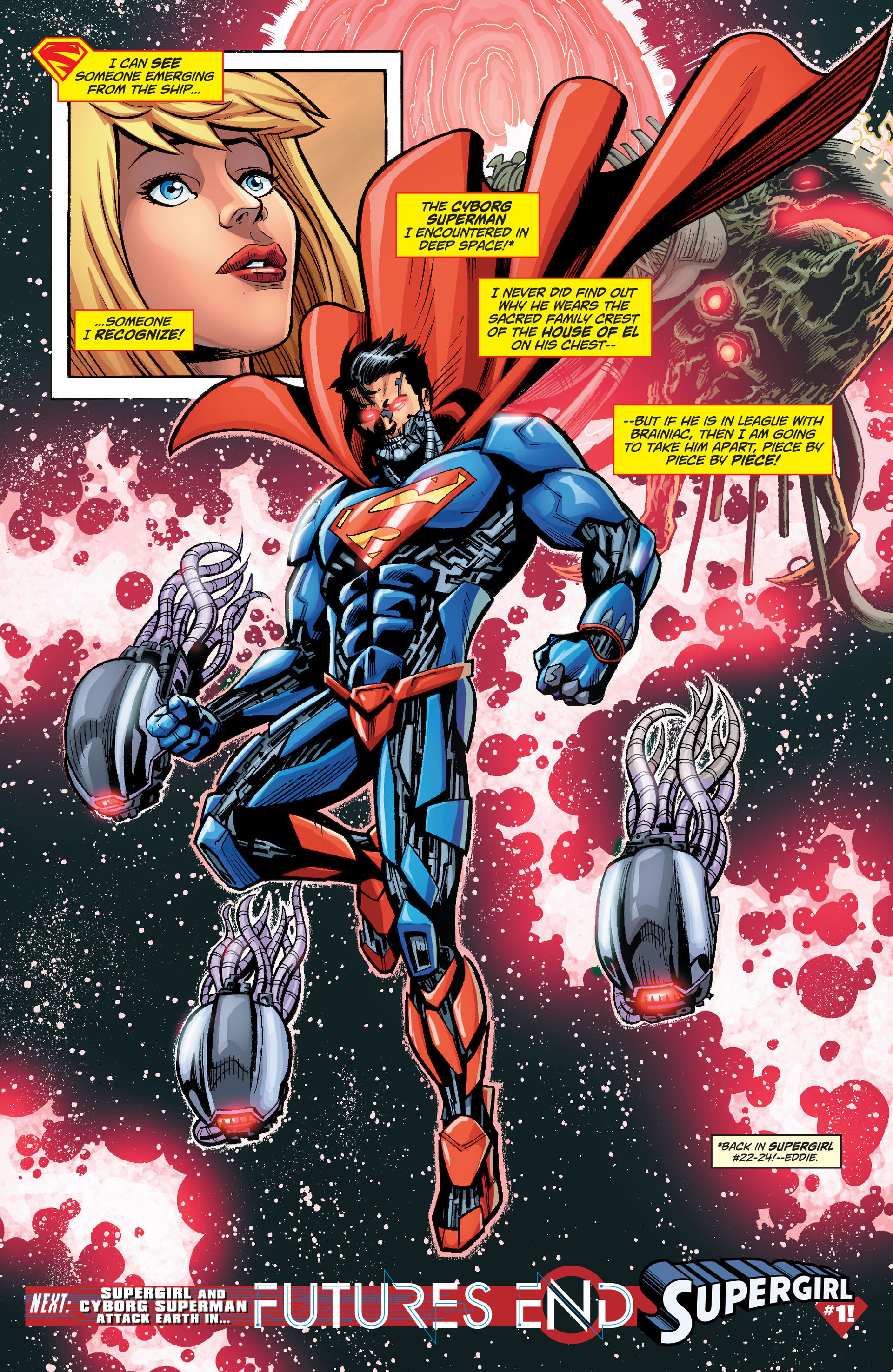 Supergirl (2011) Issue #34 #36 - English 21