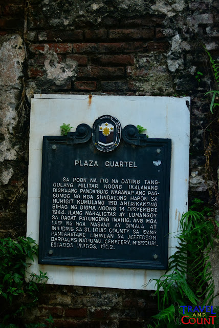 Plaza Cuartel Palawan - History