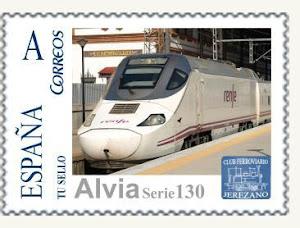 ALVIA serie 130 sello en jerez