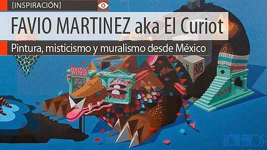Pintura, misticismo y muralismo de FAVIO MARTINEZ