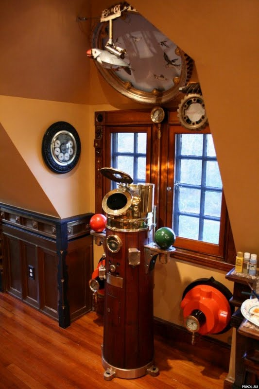 Let s Start with the high octane Theatrical Steampunk Style. braxton and yancey  Steampunk Room D cor in 3 Styles   Theatrical